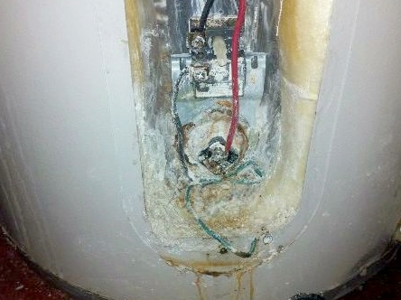 Spring Water Heater Scale Buildup
